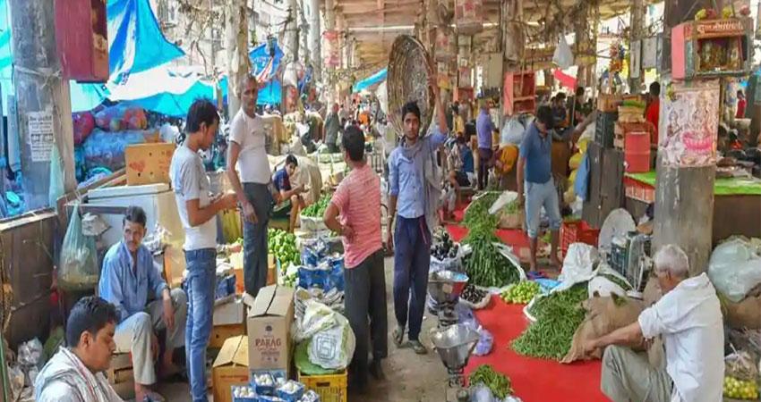 कोरोना वायरस के कारण टिकरी खामपुर में शुरू हुई अस्थाई सेब मंडी