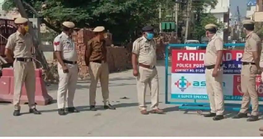 हरियाणा सरकार ने दिल्ली से सटे सभी सीमाओं को सील करने का दिया आदेश