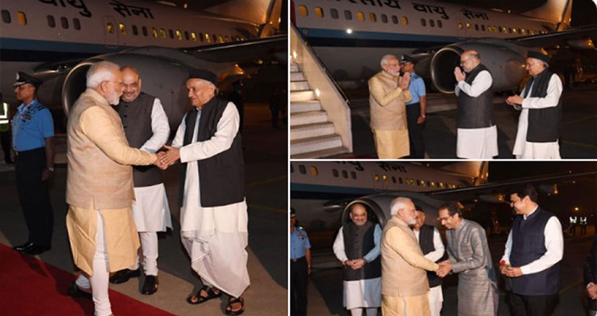 Maharashtra: CM बनने के बाद पहली बार प्रधानमंत्री मोदी से मिले उद्धव ठाकरे