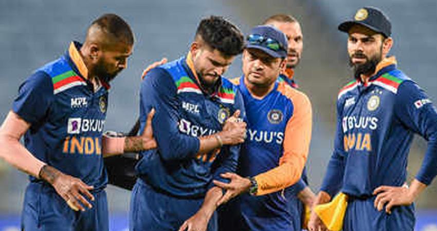 श्रेयस इंग्लैंड के खिलाफ वनडे श्रृंखला से बाहर, IPL में खेलने को लेकर भी संशय