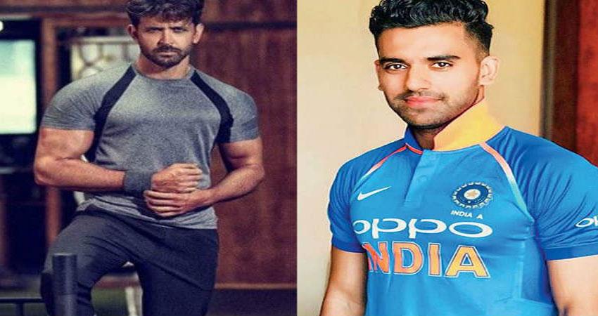 भारतीय क्रिकेटर दीपक चाहर के पसंदीदा एक्टर हैं ऋतिक रोशन