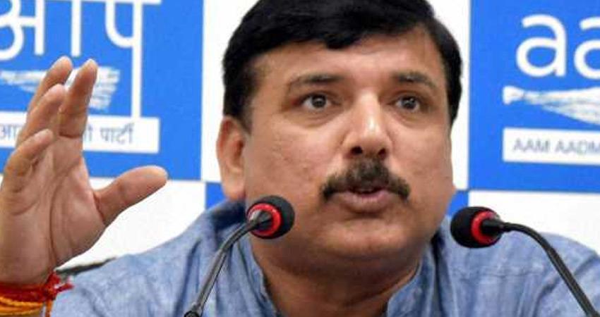 AAP सांसद बोले- संत रविदास मंदिर निर्माण के पक्ष में नहीं है #BJP