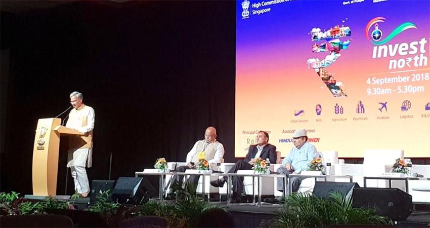 ''इनवेस्ट नार्थ'' समिट: सिंगापुर में सीएम ने गिनाए उत्तराखंड में निवेश के फायदे