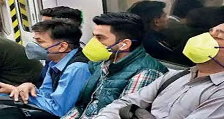दिल्ली मेट्रोः Corona काल में नियमों की अनदेखी पर दिखाई सख्ती,लगाया जुर्माना