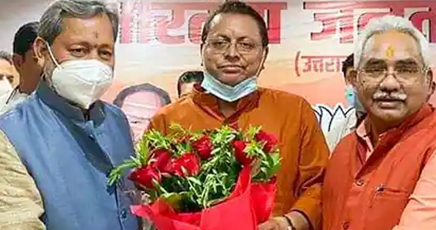 CM पद की शपथ लेने के बाद धामी बोले- पार्टी में सभी को साथ लेकर आगे बढेंगे