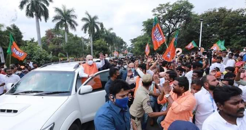ग्रेटर हैदराबाद नगर निगम चुनाव के लिए प्रचार थमा, मतदान की तैयारी शुरू