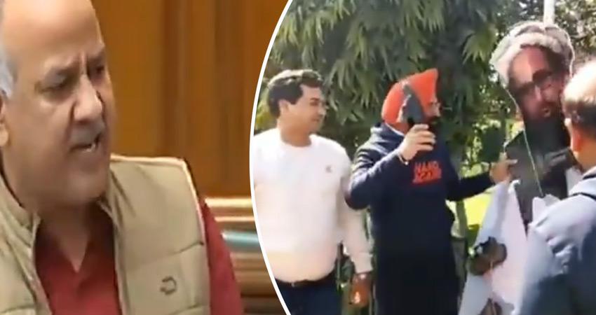 पुलवामा हमला: सिसोदिया ने PM मोदी को घेरा, सिरसा ने मसूद पर बरसाए जूते