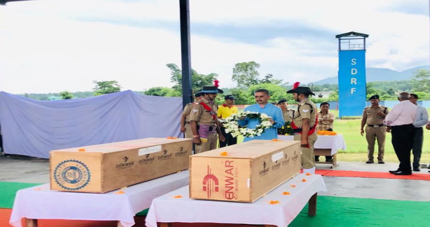 पायलट के शव हवाई मार्ग से भेजे गए घर, डीजीसीए टीम पहुंची दून, जांच शुरू