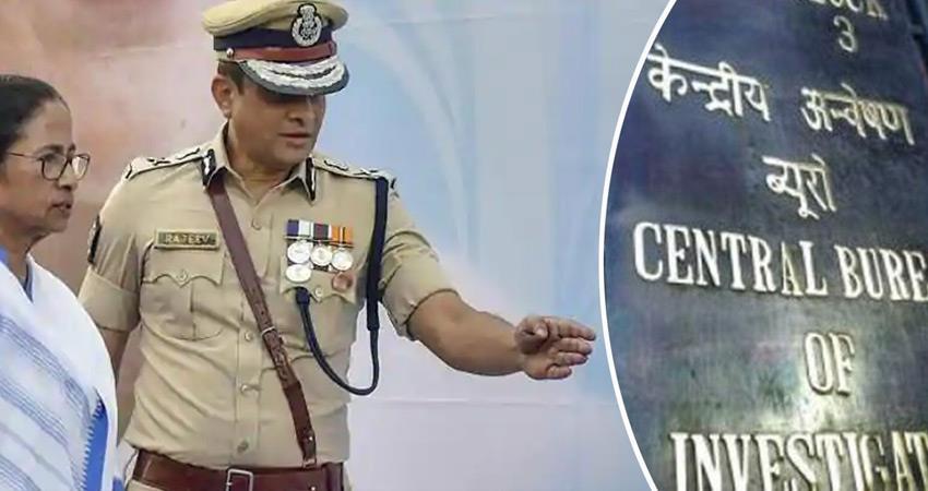 सारदा चिटफंड घोटाला : CBI ने राजीव कुमार के कार्यालय में भेजे दस्तावेज