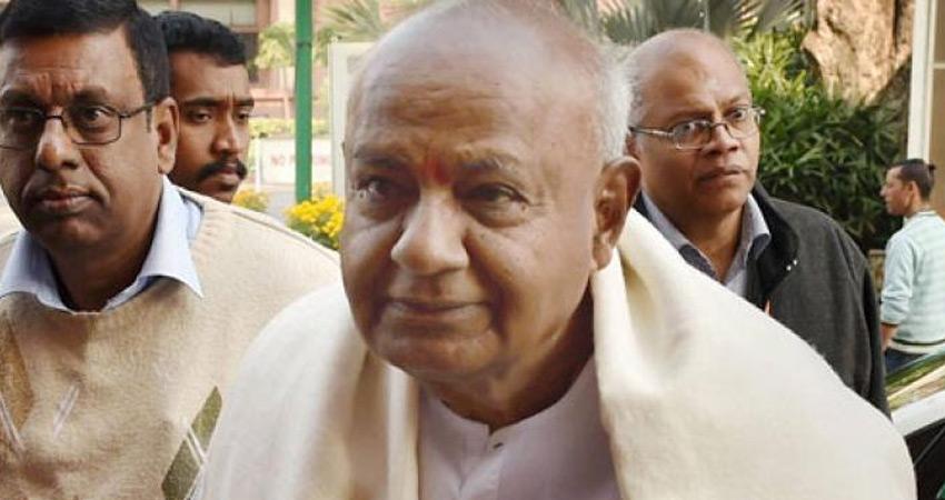 देवगौड़ा को लेकर असमंजस खत्म, कर्नाटक की इस सीट से लड़ेंगे चुनाव