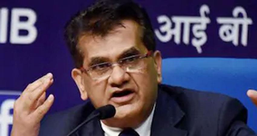 भारत में अत्यधिक लोकतंत्र के बयान पर ट्रोल हुए नीति आयोग के सीईओ अमिताभ कांत