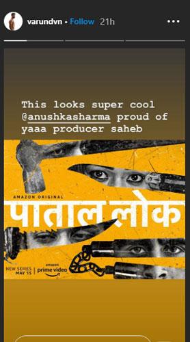 Varun Dhawan story