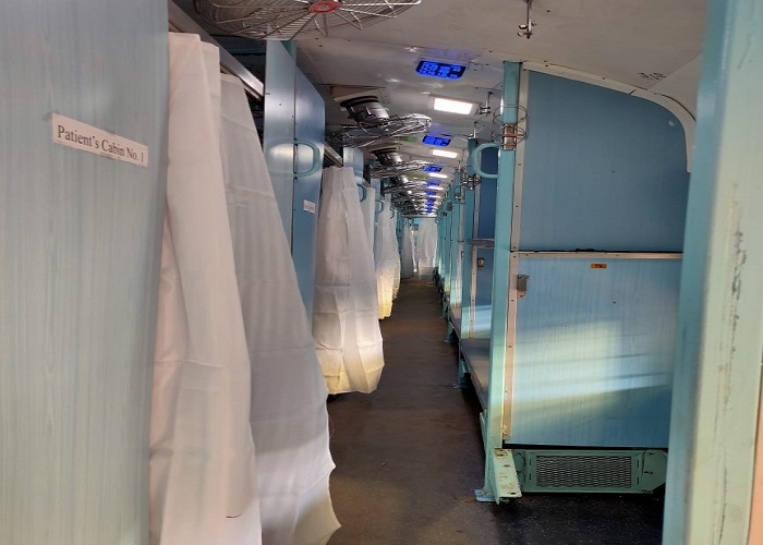 indian railways made isolation coach photos