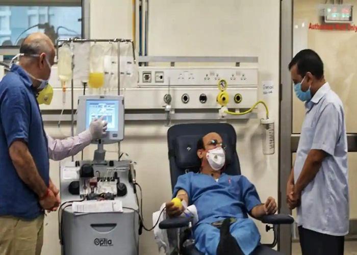 radha swami vyas corona Hospital