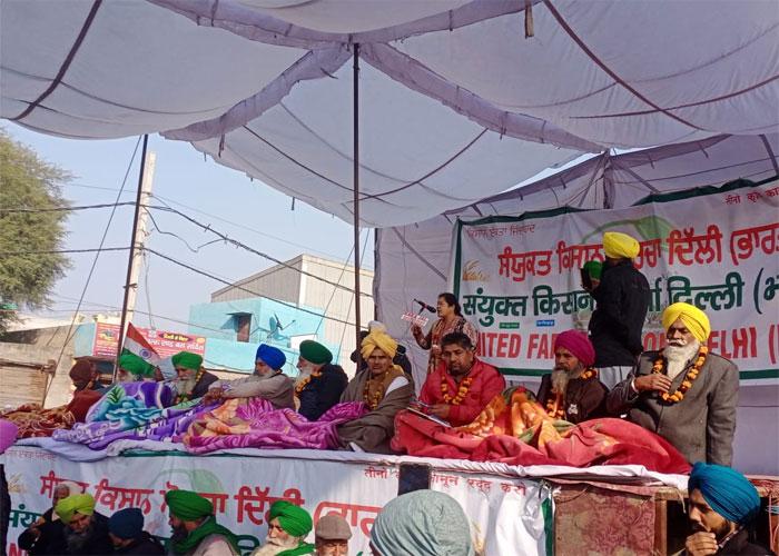 Farmers agitation in delhi