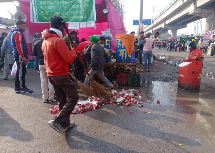 Farmers in agitation