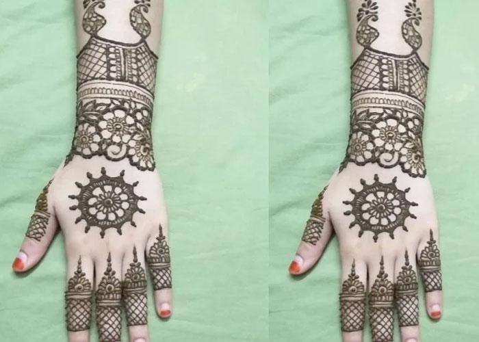arabic mehndi design navodaya times