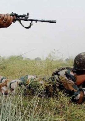 भारतीय सीमा में घुस रहे आतंकियों के साथ मुठभेड़ में सेना के तीन जवान शहीद