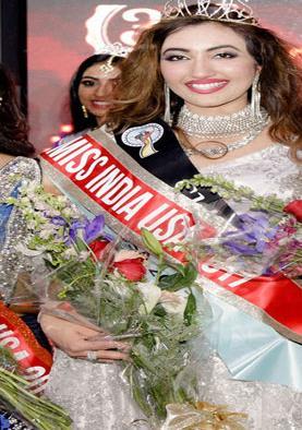 अमेरिका की श्री सैनी चुनी गईं मिस इंडिया वर्ल्डवाइड 2018